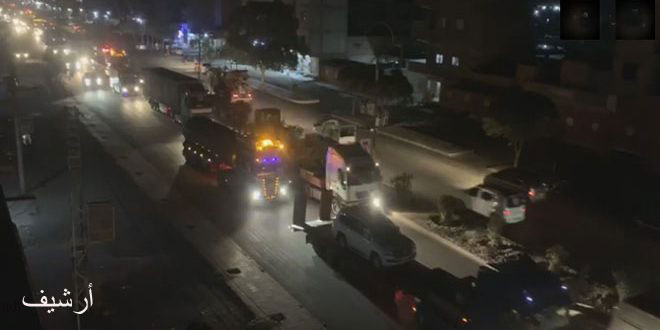 וושינגטון מכניסה בצורה בלתי חוקית 200 משאיות שעל סיפונן מערכות צבאיות למיליציה קסד