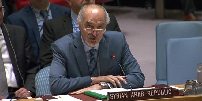 """אל-ג'עפרי: מדינות בעלות חברות קבועה במועה""""ב פונות לפוליטיזציה המצב ההומניטרי בסוריה"""