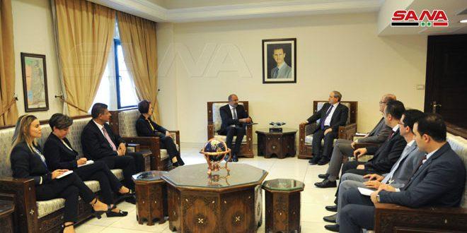 """אלמקדאד לרכז החדש לפעילות האו""""ם האנושית ולפתוח בסוריה: צריך לכבד את ריבונות ואחדות שטחי המדינות"""