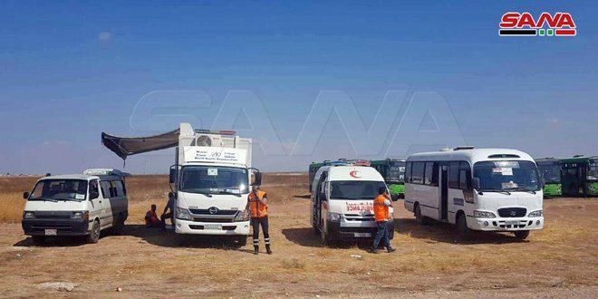 הטרוריסטים באידליב מונעים מהתושבים להגיע למעבר אבו אל-דהור ליום החמישי ברציפות