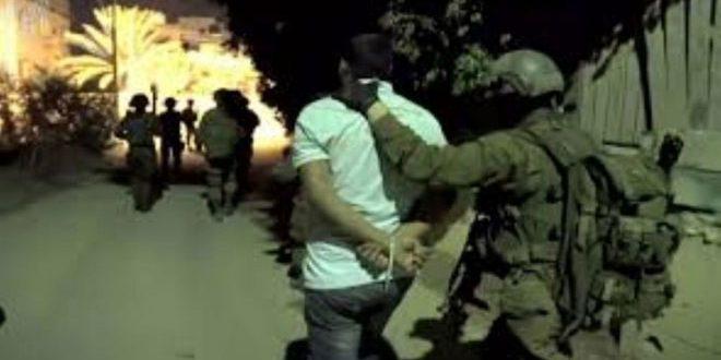 כוחות הכיבוש עצרו שני פלסטינים בגדה המערבית