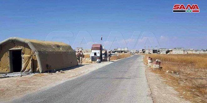 טרוריסטי ג'בהת א-נוסרה ממשיכים להשתמש באזרחים כמגן אינושי ומונעים אותם מלצאת דרך מעבר אבו אל-דהור