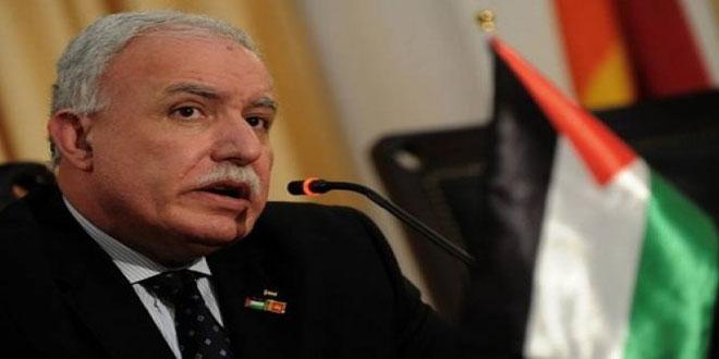 משרד החוץ הפלסטיני: הפרות הכיבוש בקרב הפלסטינים לא יבטלו את זכויותיהם הלגיטימיות