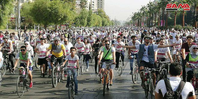 מרתון הגילוי המוקדם של מחלת סרטן השדיים