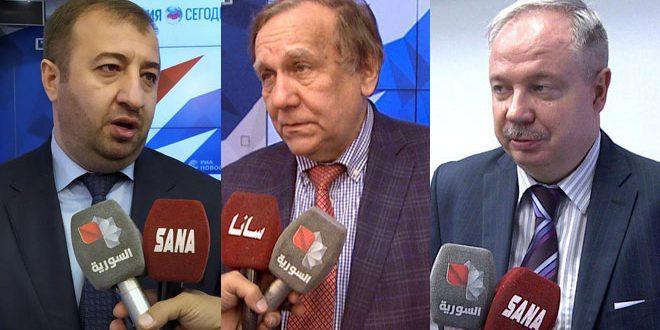 ציר ושני פרשנים רוסים: הצבא הסורי מנהל מלחמה נגד הטרור במקום העולם