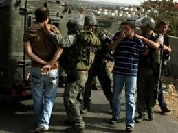 הכוחות הישראליים עצרו 4 פלסטינים בגדה המערבית