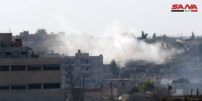 """עיתון טיימז הבריטי: הממשל הטורקי השתמש בחומרים האסורים בינ""""ל עת תוקפנותו בסוריה"""