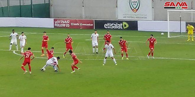 נבחרת סוריה האולומפית לכדורגל התגברה על מקבילתה הירדינית באליפות דובי הבינלאומית