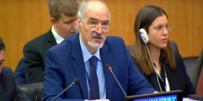 אל-ג'עפרי : ישנו צורך בהסרת ההליכים הכלכליים החד צדדיים שהוטלו על העם הסורי
