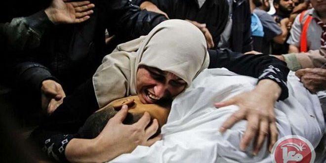 שני פלסטינים נפלו מזרחית לח'אן יונס בשל תוקפנות מטוסי הקרב הישראליים