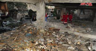 גינויים לבנוניים לתוקפנות הישראלית נגד אזור מזה בדמשק