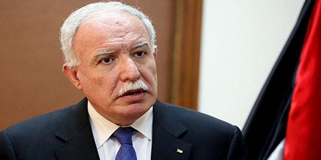 אלמאלקי קורא להעניש את הישות הכיבושית על פשעיה נגד הפלסטינים