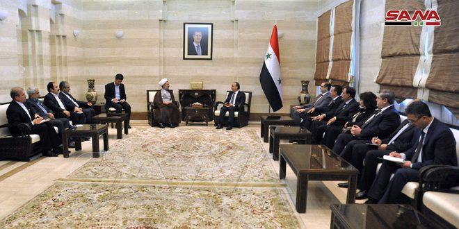 המהנדס ח'מיס דן עם משלחת איראנית בפתוח היחסים הכלכליים בין שתי הארצות