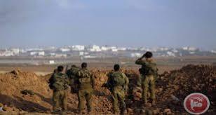 כוחות הכבוש חידשו התקפת החקלאים הפלסטינים בדרום רצועת עזה