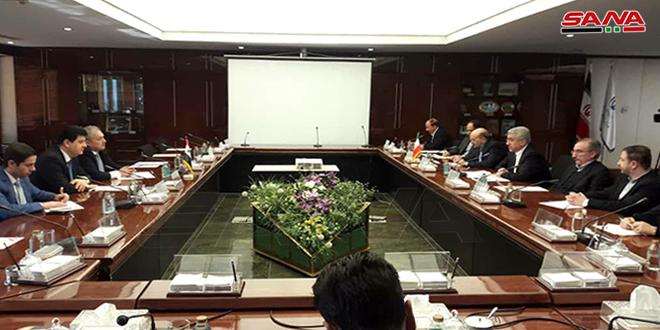 שיחות סוריות איראניות לשיתוף הפעולה בתחום אנרגיה הידרולית