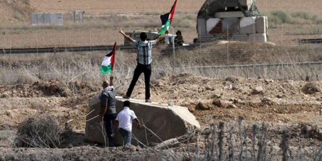 הכוחות הישראליים תקפו את החקלאיים הפלסטינים ברצועת עזה
