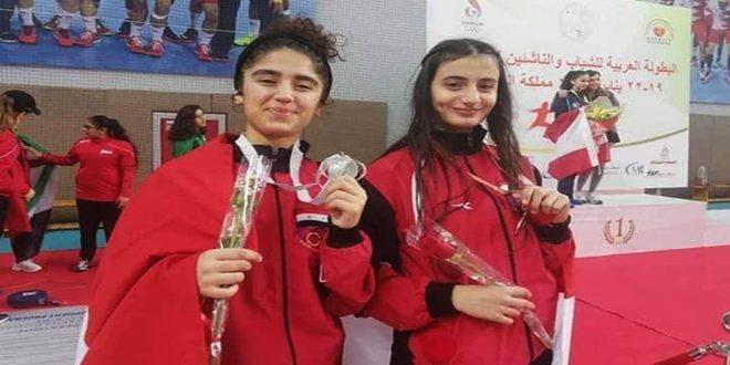 מדליות כספית וברונזית לסוריה ביום הראשון לאליפות הערבית לדו-קרב