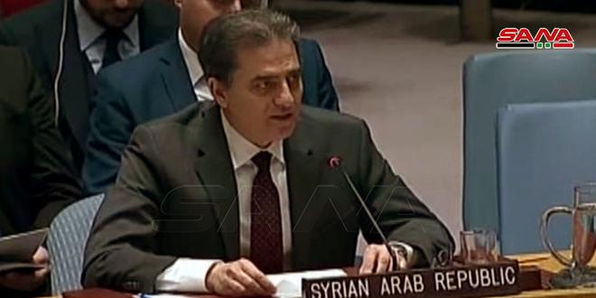פלוח: סוריה לוחמת בטרור בשטחיה והיא תמשיך בכך עד שחרור כל גרגיר מהם