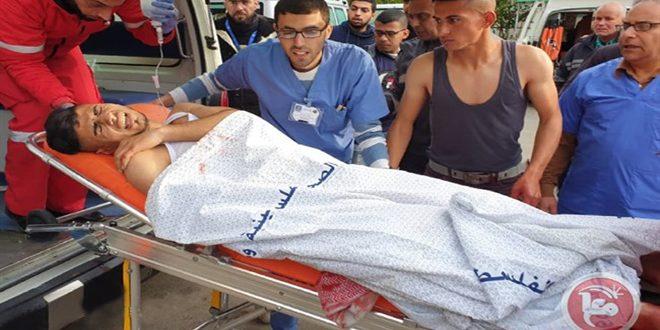 צעיר פלסטיני נפל חלל ושלושה נפצעו מירי הכוחות הישראליים בדרום רצועת עזה