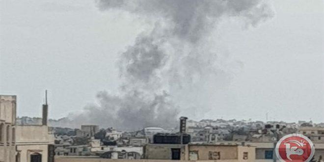 מטוסי הקרב הישראליים חידשו תוקפנותם נגד רצועת עזה