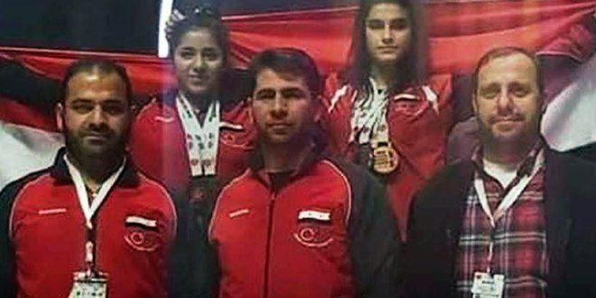 נבחרת סוריה זכתה ב-9 מדליות באליפות אסיה להרמת משקלים