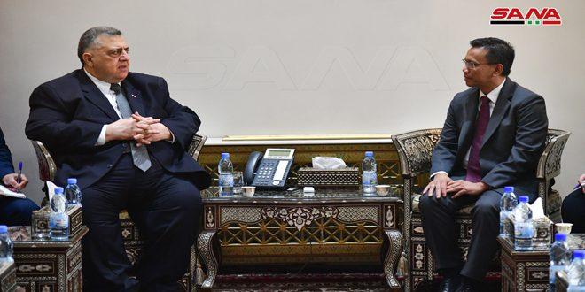 ראש מועצת העם בפני שגריר האינודוניסי: ישנו צורך בחיזוק ופיתוח הקשרים הפרלמנטריים הדו-צדדיים