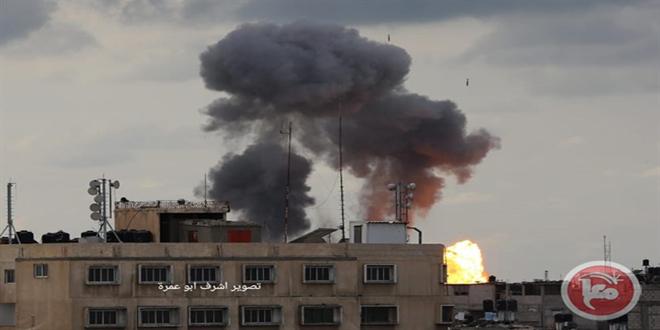 הכיבוש הישראלי ממשיך את תוקפנותו נגד רצועת עזה הנצורה