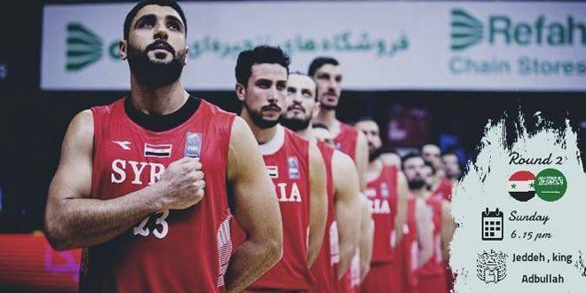 נבחרת סוריה לכדורסל ניצחה את מקבילתה הסעודית בתחרויות ההכשרה לאליפות אסיא