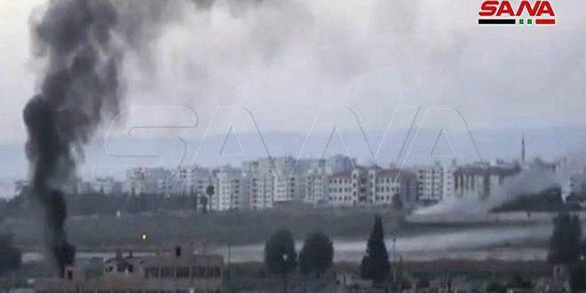 התוקפנות הטורקית פגעה בקו המיים עלוק/אל-חסכה
