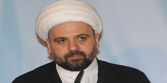 השייח' קבלאן הדגיש את צורך התיאום עם סוריה