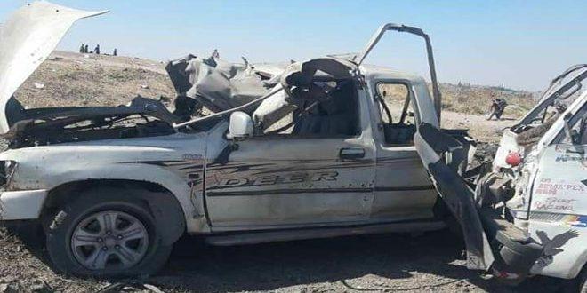 8 חללים ו- 7 פצועים בפיצוץ מכונית תופת סמוך לסילואות תל חלף בצפון-מערב אל-חסכה