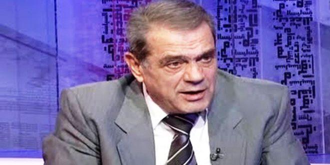 ו'אקים : מה שמכונה חוק קיסר בא במסגרת התוכנית התוקפנתית נגד סוריה