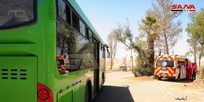 חזרת מספר של מהגרים עצורים ממחנה אל-רוכבן