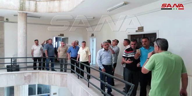 """החזרת מבנה של ממסד הדגנים הסורי באל-חסכה לאחר 16 יום מהשתלטות קבוצות """"קסד"""" עליו"""