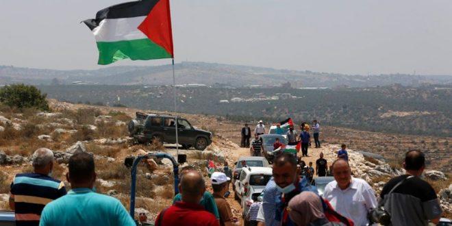 הפגנה רבת משתתפים בסלפית במחאה על התקפות המתנחלים