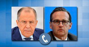 לברוב דן עם עמיתו הגרמני בסנקציות הכלכליות המוטלות על סוריה