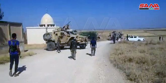 """יירוט משוריינים אמריקניים ע""""י הצבא הערבי הסורי בתל תמר"""