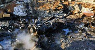 4 אזרחים נפצעו מהתפוצצות מכונית תופת בעיר אלבאב צפונית לעיר חאלב