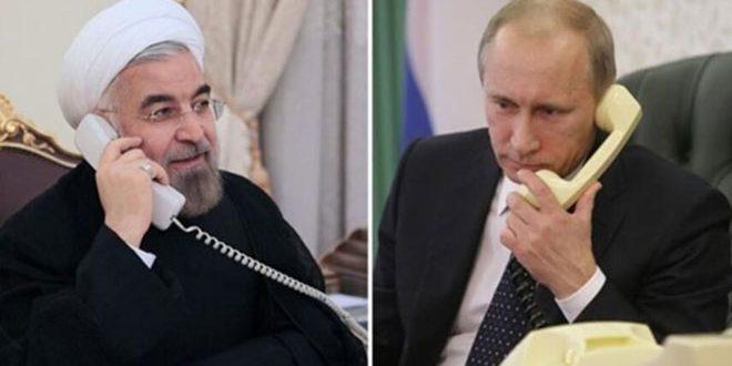 רוחאני לפוטין : המשך שיתוף הפעולה בנוסחת אסטנה ליישוב המשבר בסוריה