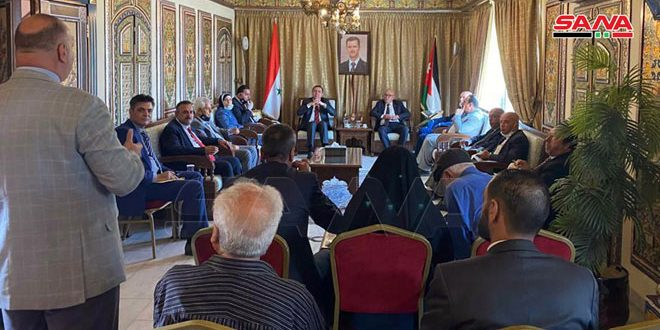 עורכי דין ירדנים ..הסנקציות האמריקניות המוטלות על סוריה הן טרור כלכלי