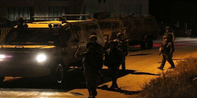 כוחות הכיבוש עצרו 5 פלסטינים בעיר שכם