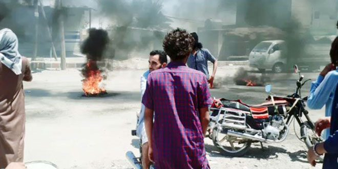 מיליציה קסד מטילה מצור על העיירות אל-שחיל, אל-בסירה, אל-חו'יג' וד'יבאן בפרבר דיר א-זור