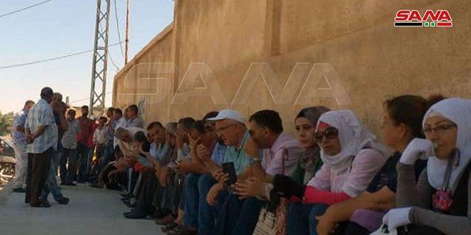 מיליציה קסד שדדה את המכשורים של חברת החשמל הכללית באל-חסכה