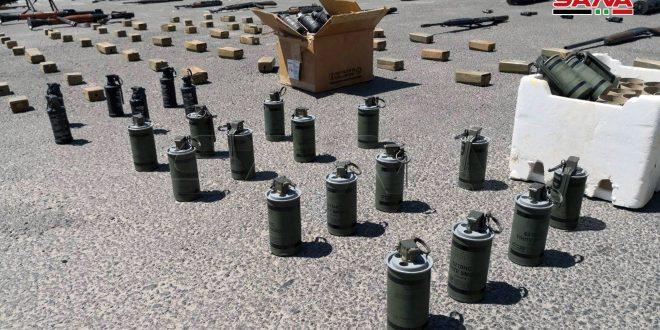 גילוי כמויות גדולות של כלי נשק משארית הטרוריסטים באזור הדרום