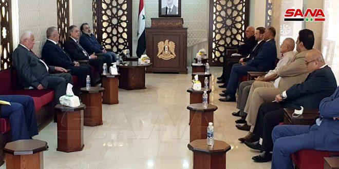 השגריר עבד אל-כרים: לחיזוק האנטיגרציה הסורית-לבנונית בעימות עם הטרור הציוני והתכפירי