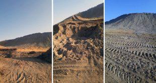 כוחות הכיבוש הטורקי ושכירי החרב שלהם השמידו את התלים הארכיאולוגיים שבאגן אלבליך באלרקה