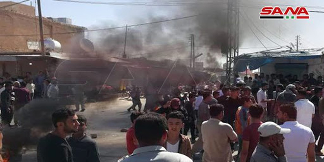 """6 מחמושי מיליציה קס""""ד נהרגו במספר התקפות בפרברי אל-חסכה ודיר א-זור ואל-רקה"""