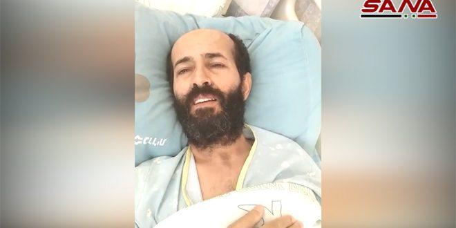 האסיר אל-אח'רס מודה לסוריה בשל עמדת הכבוד שלה מהשאלה הפלסטינית