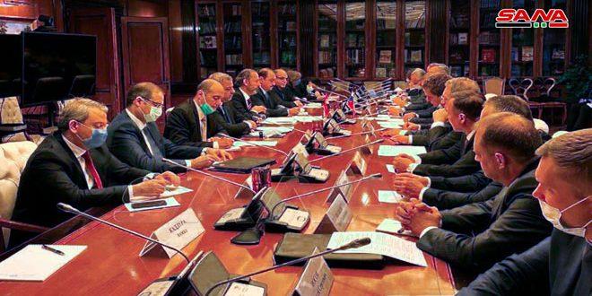 ישיבת שיחות סורית-רוסית במוסקבה … הדגשת חשיבות העלאת היקף סחר החליפין בין שתי הארצות