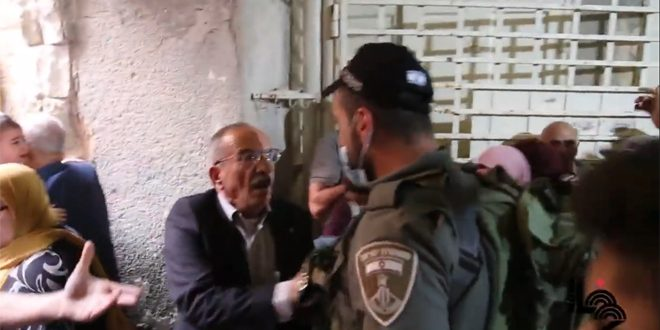 התקפה ישראלית נגד הפלסטינים בחברון